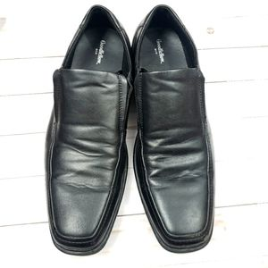 Goodfellow slip on Loafers square toe black